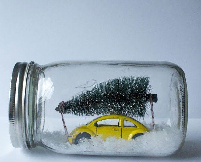 Regalos con frascos de vidrio